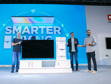 Mi band 4, Mi Tv 4X Launched on Smarter Living event 2020.