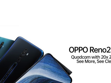 oppo reno 2 features, price and launch date in India.