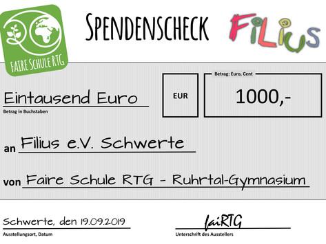 Kooperation zwischen Filius und dem Ruhrtal-Gymnasium Schwerte