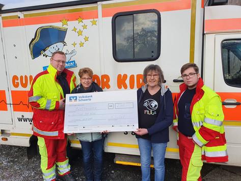 Spende für Gulliver for Kids und den Kinderhospizdienst