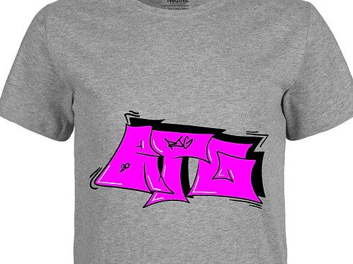 T-Shirt Men heather grey - Tag