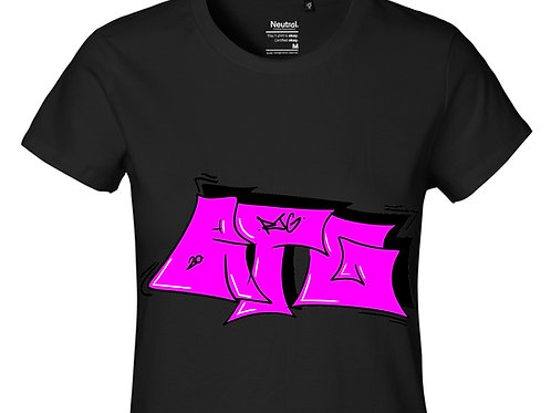 T-Shirt Ladies Black - Tag
