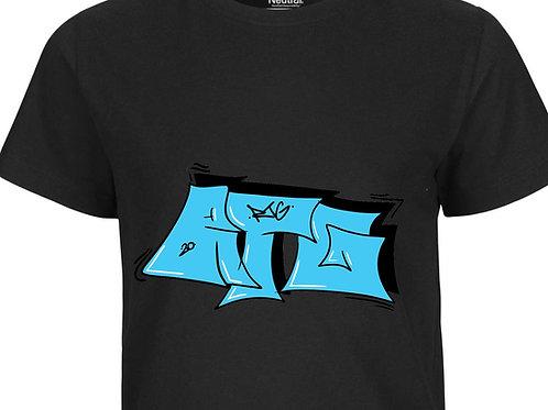 T-Shirt Kids Black - Tag
