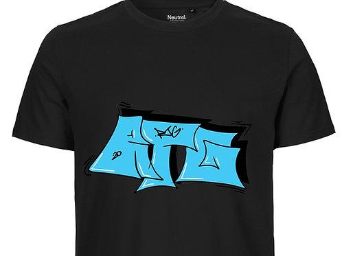 T-Shirt Men black - Tag