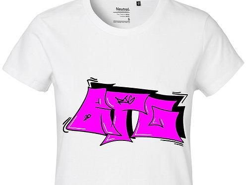 T-Shirt Ladies White - Tag