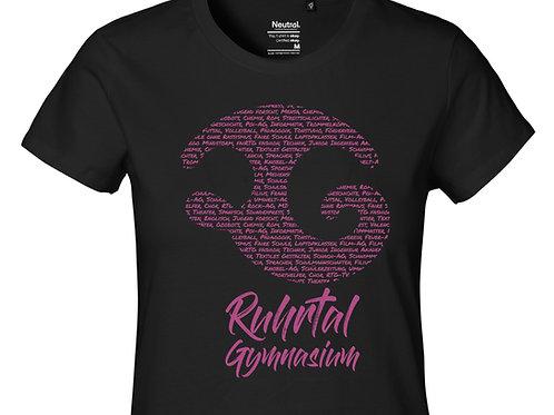 T-Shirt Ladies Black - Corporate 2.0