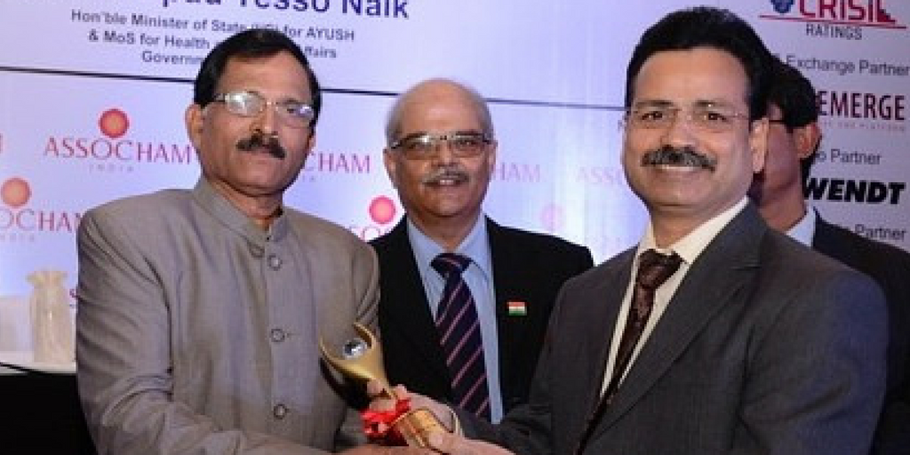 ASSOCHAM EXCELLENCE AWARD