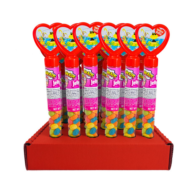 311324 Heart Tubes with Warheads Jelly Beans