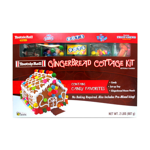 Use This Tootsie Gingerbread Christmas Cottage Kit As A Fun Family  Christmas Activity. Kit Includes All You Need To Make And Decorate A Gingerbread  House.