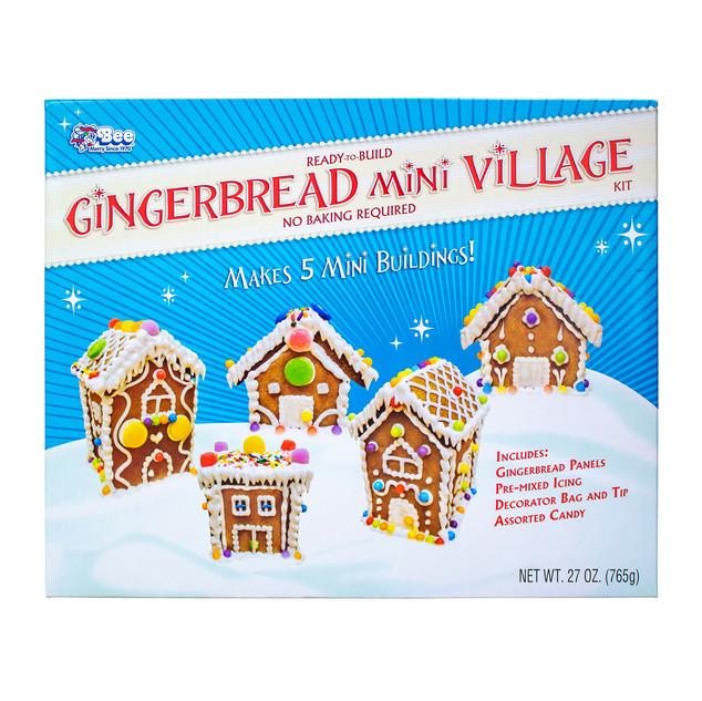 1633 Bee Gingerbread Mini Village Kit
