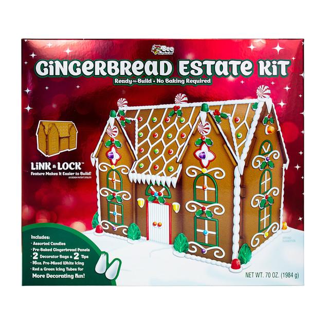 1611 Bee Gingerbread Estate Kit