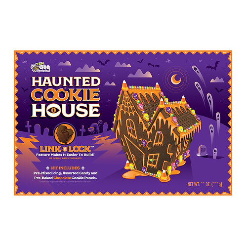 Bee Haunted Cookie House Kit