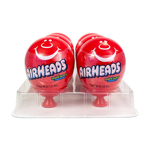Airheads Plastic Oscar Container with Mini Bars
