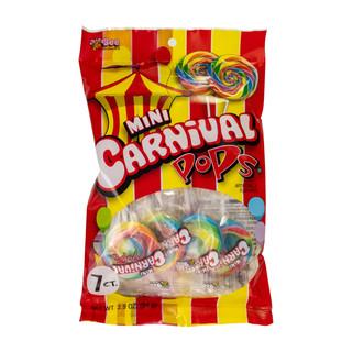 281 Mini Carnival Pops 7ct Peg Bag