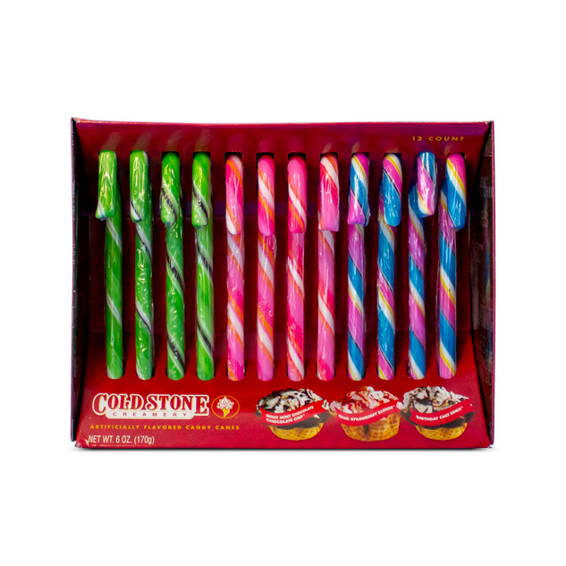 12ct Cold Stone Candy Canes