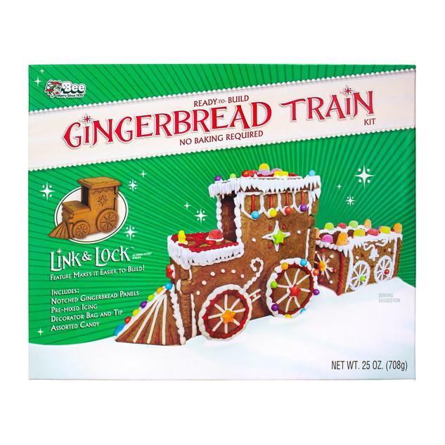 1637 Bee Gingerbread Train Kit