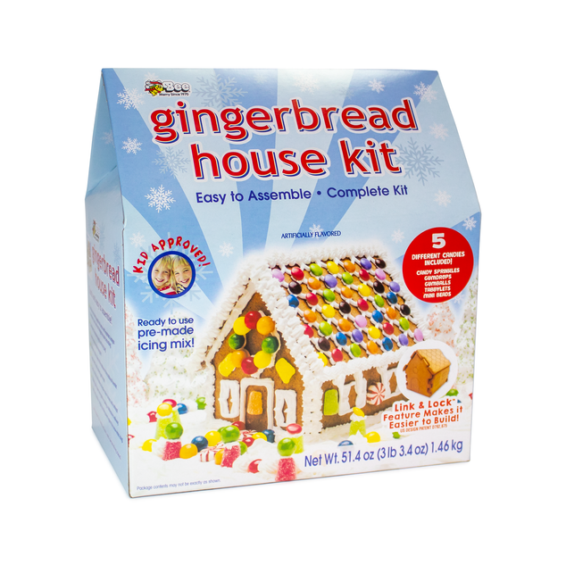 1811 City House Gingerbread Kit