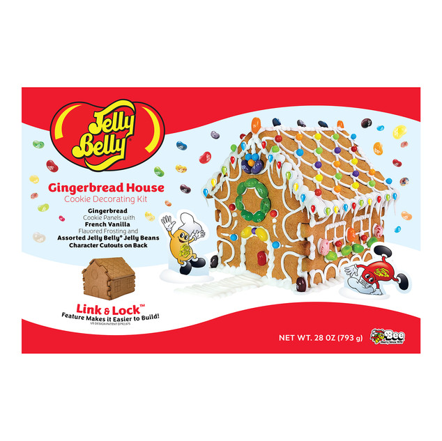 7301 Jelly Belly Gingerbread House Kit