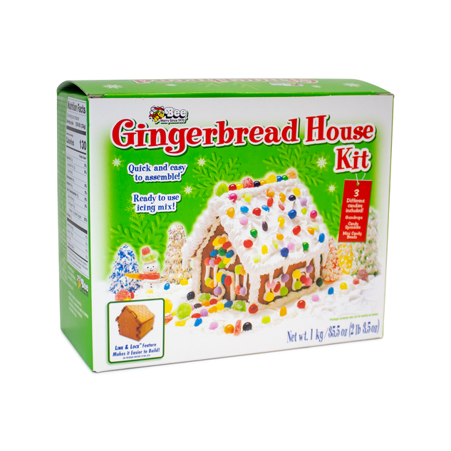 1814 Cube Gingerbread Kit