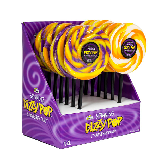6084 Spinning Halloween Dizzy Pop