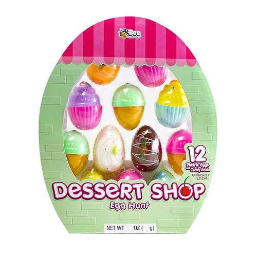 Dessert Shop Egg Hunt with Smarties