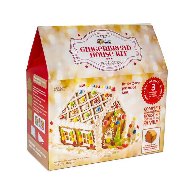 1819 Alpine House Gingerbread Kit