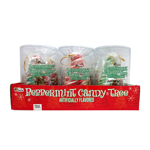 PEPPERMINT CHRISTMAS TREES - 12 CT.