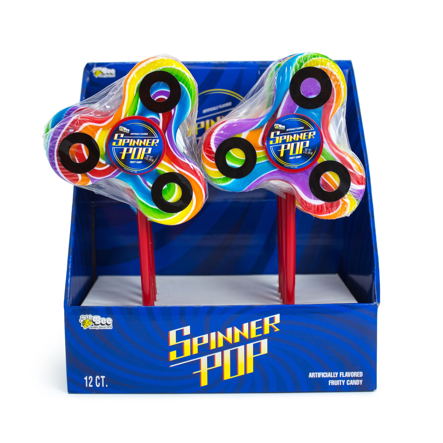 Spinner-Pop-Display