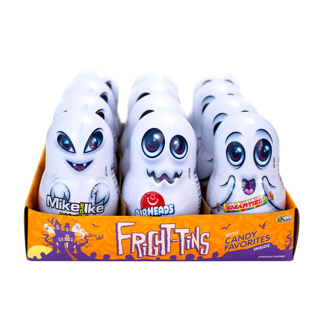6096 Fright Tins 12ct. Display