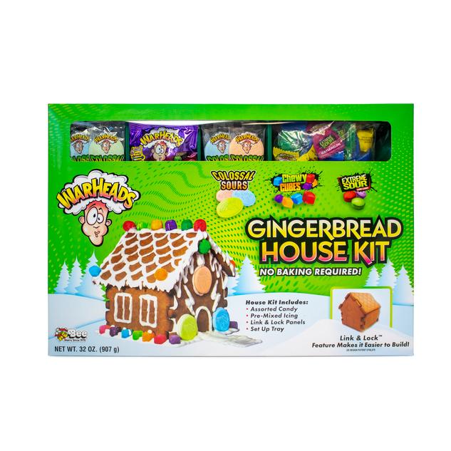 Warheads Gingerbread House Kit