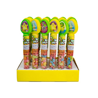 131324 Easter Tubes with Warheads Sour Jelly Beans