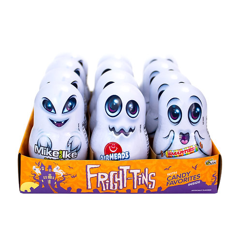 FRIGHT TINS 12 CT. DISPLAY