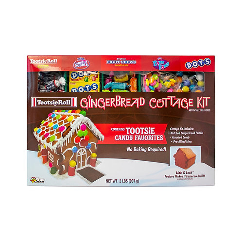 Tootsie Gingerbread Cottage Kit