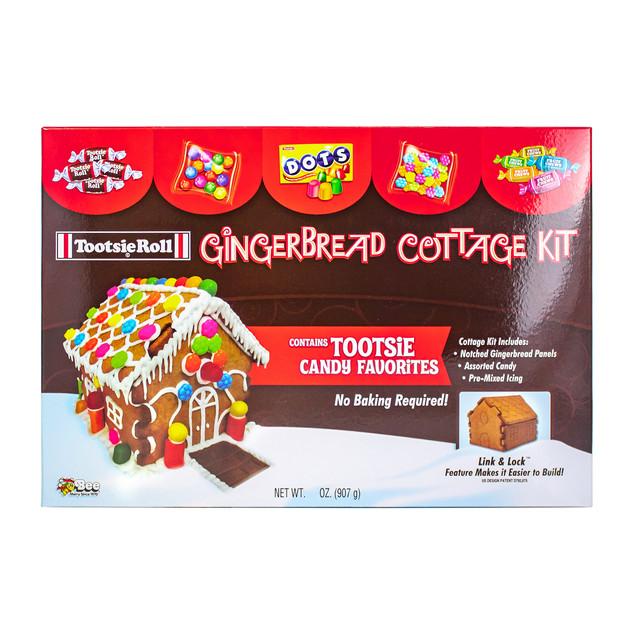 1710 Tootsie Gingerbread Cottage Kit