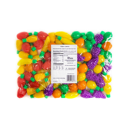CANDY FILLED PLASTIC FRUIT - 72 CT.