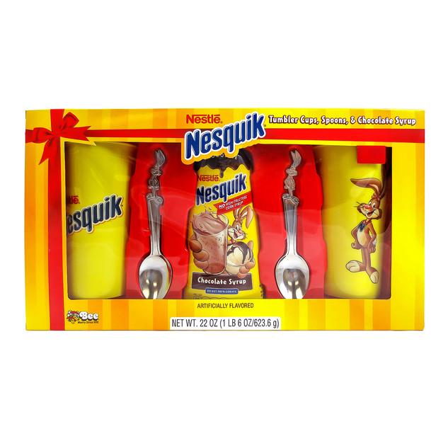 702 Nestle Nesquik Chocolate Tumbler Set