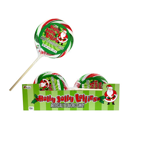 HOLLY JOLLY LOLLIES 12 PIECES