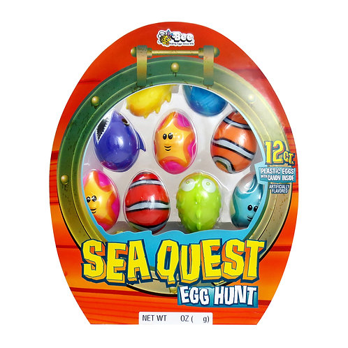 Sea Quest Egg Hunt with Smarties