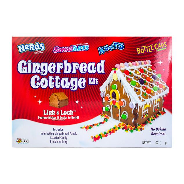 1710 Sweetarts, Nerds, Runts, Bottle Caps Gingerbread Cottage Kit