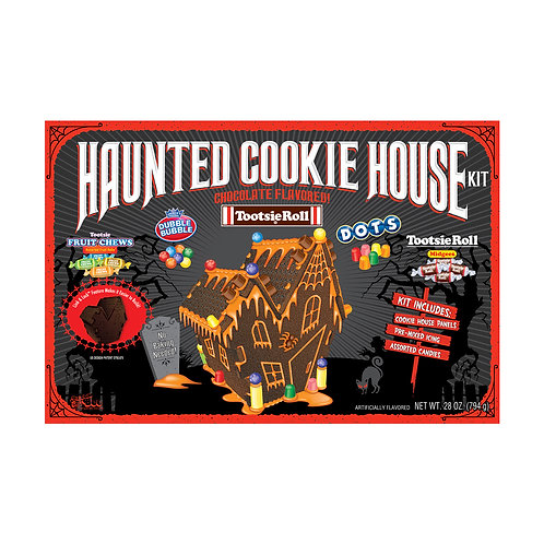 Tootsie Haunted Cookie House Kit