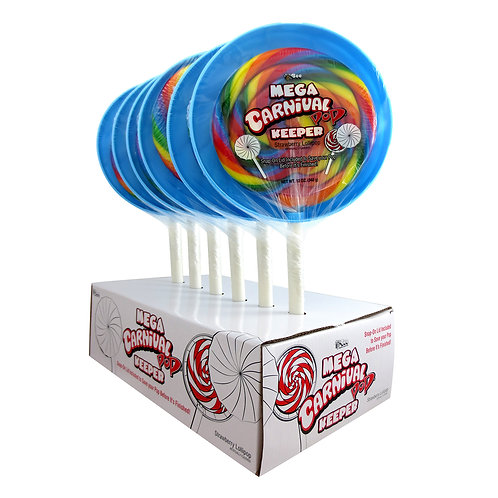 MEGA CARNIVAL POP WITH KEEPER CASE - 6 CT.