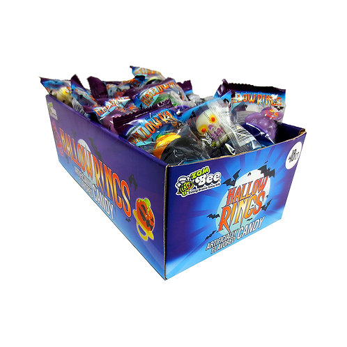 ASSORTED HALLOWRING POPS 48 CT.