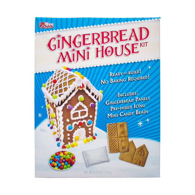 1671 Bee Gingerbread Mini House Kit