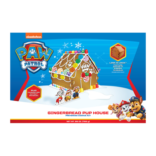 4130 Paw Patrol Gingerbread Pup House