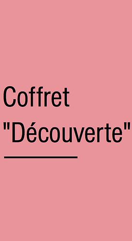 """COFFRET """"DÉCOUVERTE"""""""