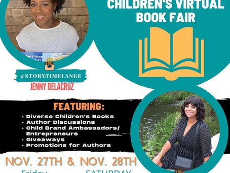 Free Virtual Diverse Children's Book Fair!