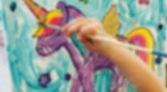 #artonwheels #mobilepaintparty #mobilepainting #atasteofartistry #kidsparties #kidsart #shopkins #sh