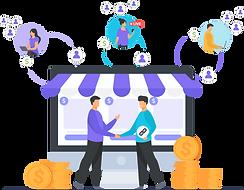 estratégia de vendas online para produtos e serviços, marketing digital para negócios loca