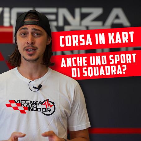 Il karting può essere anche uno sport di squadra?