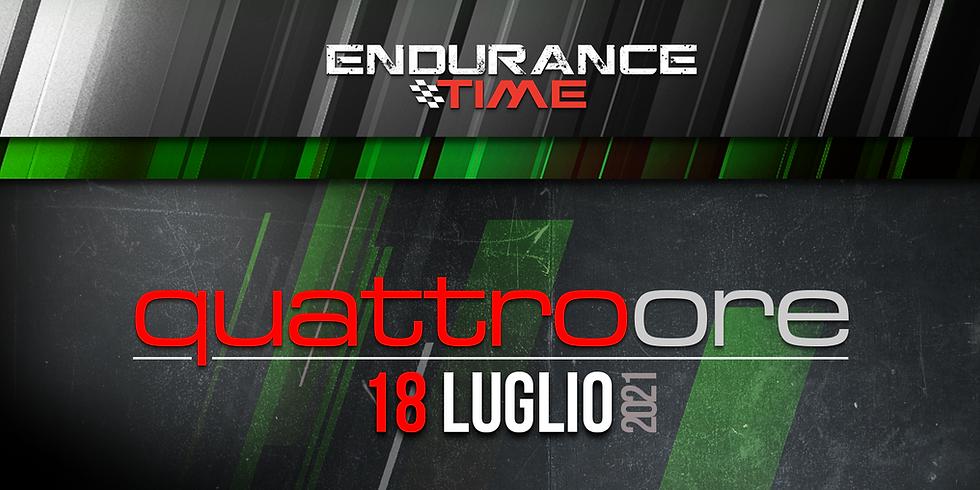 Endurance Time VKI | 4ore - 18 luglio 2021